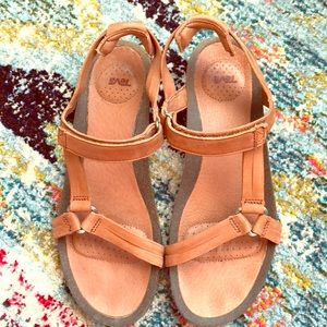 Leather Teva Travel Sandals